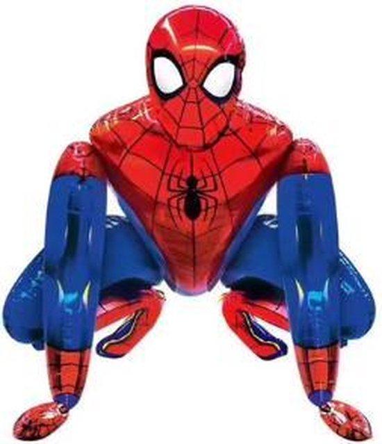 Spiderman 3D XL Ballon - 66x55,5cm - Folie Ballon - Thema Verjaardag - Superheld - versiering - Ballonnen - Helium ballon