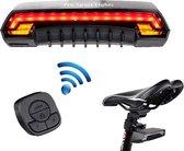 Verlichting achteraan met richtingaanwijzers & Laser - LED Fietsverlichting