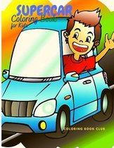 Supercar Coloring Book for Kids