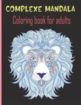 Complexe mandala Coloring book for adults