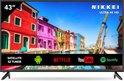 Nikkei NU4318S – 43 inch (109 cm) Ultra HD 4K LED SMART TV met Wi-Fi – 3840 x 2160