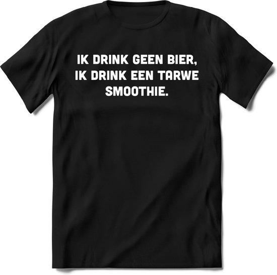 Ik drink geen bier T-Shirt Heren / Dames - Perfect bier Cadeau Shirt - bierpakket spreuken drank teksten en grappige zinnen