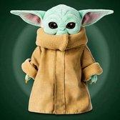 Baby Yoda - Knuffel van The Mandalorian - Pluche - 25 cm - Star Wars - The Child - Grogu