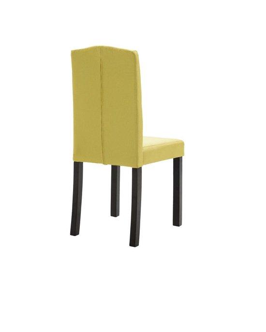 Eetkamerstoelen met Knopen Stof Groen 4 STUKS Eetkamer stoelen Extra stoelen voor huiskamer Dineerstoelen Tafelstoelen Barstoelen
