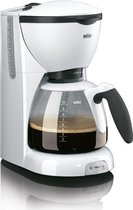 Braun Café House PurAroma KF520/1 - Koffiezetapparaat - Wit