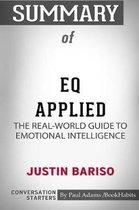 Summary of EQ Applied
