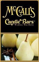 McCall's Candles 6 Candle Bars Spiced Pear