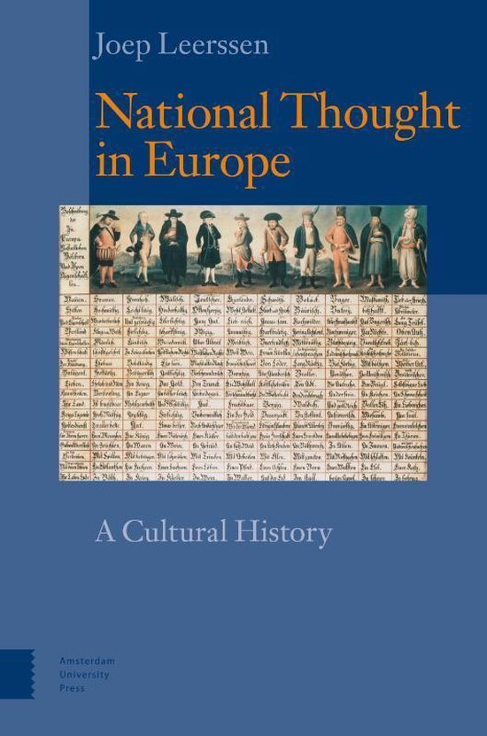 Boek cover National Thought in Europe van PROF. DR. Joep Leerssen (Paperback)