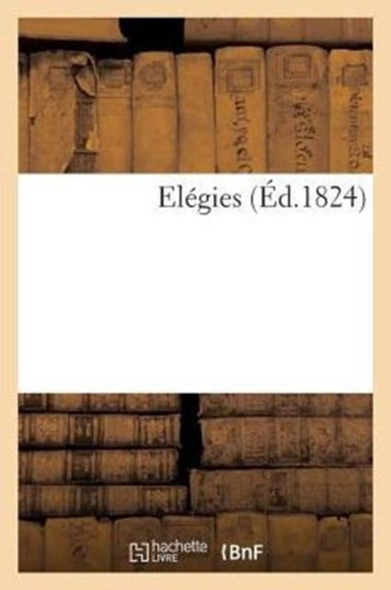Elegies (Ed.1824)