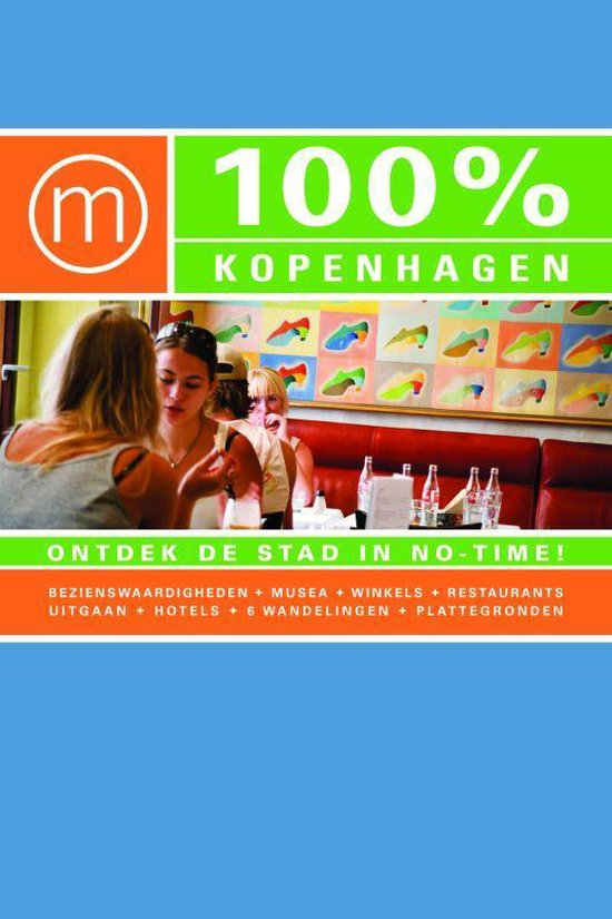Cover van het boek '100% Kopenhagen' van A. Zijlema
