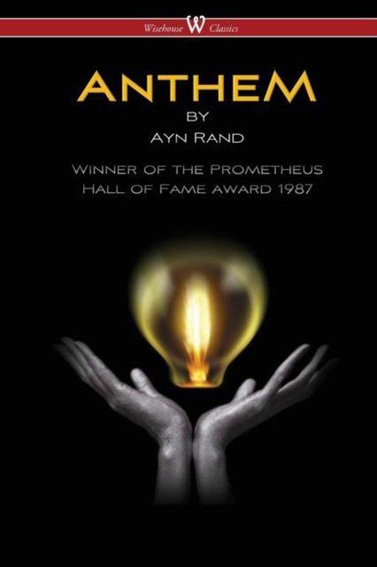 Boek cover ANTHEM (Wisehouse Classics Edition) van Ayn Rand (Paperback)