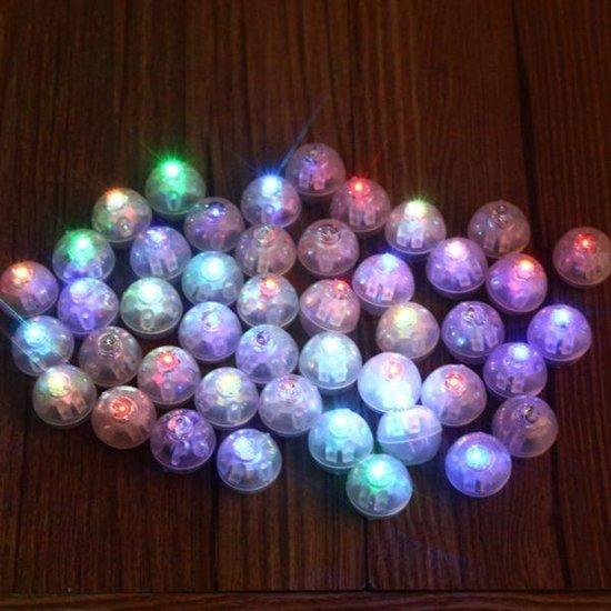 Ballon LED lampjes 20 stuks
