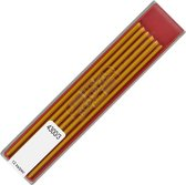 KOH-I-NOOR Coloured Leads for 2mm Diameter 120mm Mechanical Pencil - Yellow 4300/3 (4300003004PK).