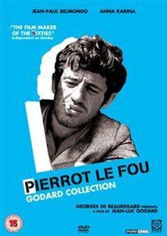 Cover van de film 'Pierrot Le Fou'