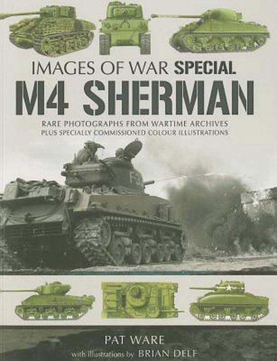 Boek cover M4 Sherman van Pat Ware (Paperback)