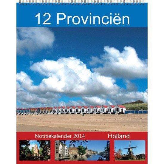 Cover van het boek '12 provinciën maandnotitie kalender 2014' van  Comello