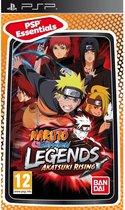 Naruto Shippuden, Legends, Akatsuki Rising (Essentials) PSP