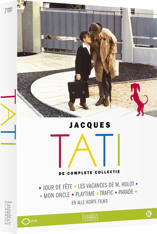 Cover van de film 'Jacques Tati - De Complete Collectie'