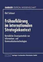 Fruhaufklarung Im Internationalen Strategiekontext