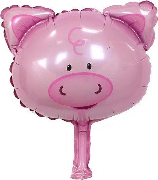 Folieballon Varken 35x20cm