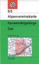 DAV Alpenvereinskarte 05/3 Karwendelgebirge Ost 1 : 25 000