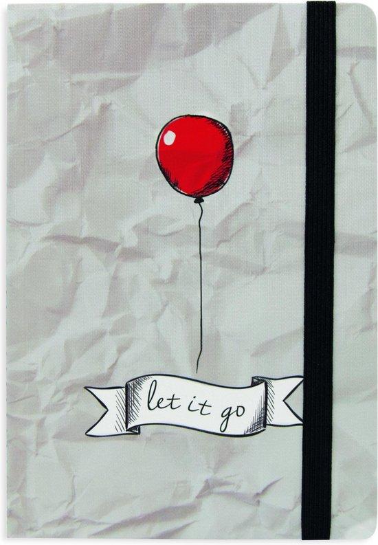 LEGAMI notitieboek Let it go - 13x18cm - Gelinieerd