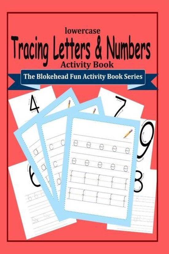 Tracing Letters and Numbers Activity Book