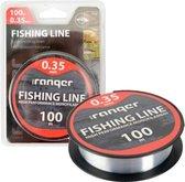 vislijn - vislijn helder - visdraad - nylon - 0.35
