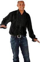 Disco Shirt Zwart Maat ML