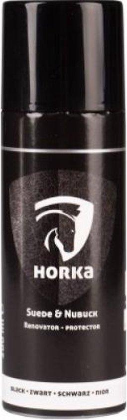 Horka Suède Nubuck Renovator 200ml - Zwart