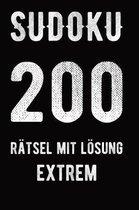 Sudoku 200 R tsel mit L sung extrem