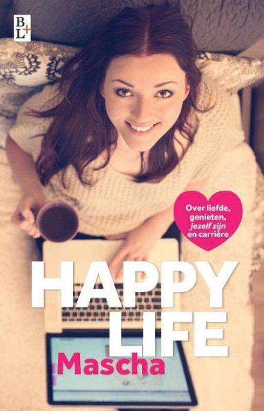 Boek cover Happy life van Mascha (Paperback)