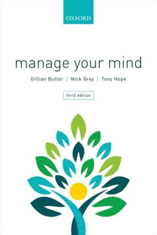 Boek cover Manage Your Mind van Gillian Butler (Paperback)