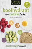 Boek cover De koolhydraten- en calorieteller van Chris Cheyette (Paperback)