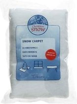 Sneeuwdeken / sneeuwtapijt 120 x 80 cm - rechthoekig - sneeuwkleedjes