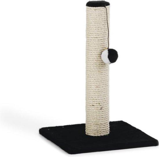 Beeztees Gina - Krabpaal - Zwart - Mini - 30x30x45 cm