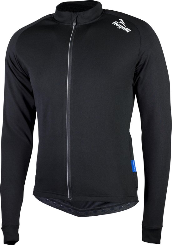 Rogelli Caluso 2.0 Fietsshirt - Heren - Maat 4XL - Lange mouwen - Zwart