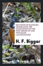 Souvenir of Banquet