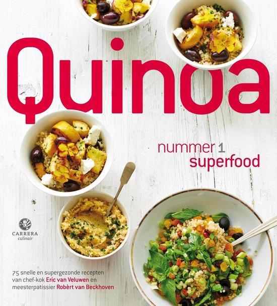 Boek cover Quinoa van Eric van Veluwen (Onbekend)