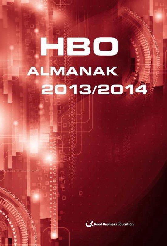 Cover van het boek 'HBO almanak  / 2013-2014'
