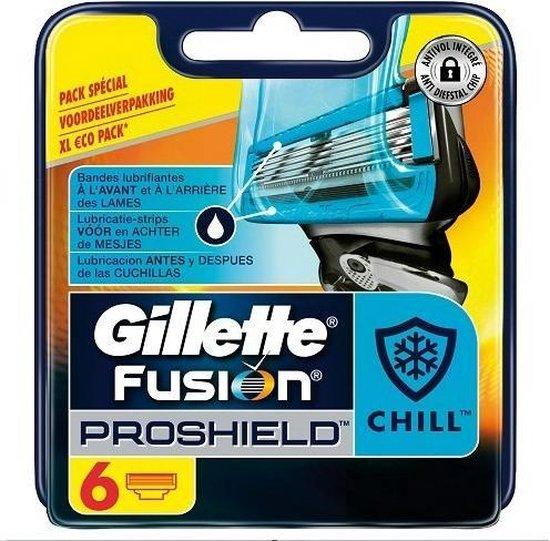 Gillette Fusion Proshield Chill - 6 Stuks - Scheermesjes
