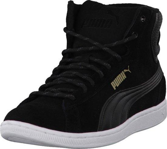 bol.com | Puma Hoge sneakers Puma Vikky Mid Twill Sfoam ...