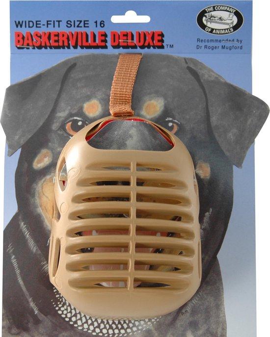 Baskerville muilkorf baskerville nr. 16 - 1 ST
