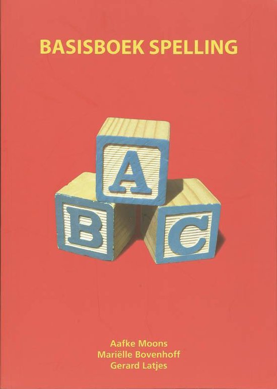 Basisboek spelling - Mariëlle Bovenhoff |