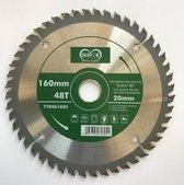 Suilen Zaagblad voor hout 160 mm 48 tanden asgat 20 mm