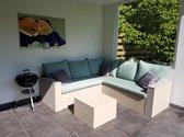 Lounge -hoekbank 200x200 cm