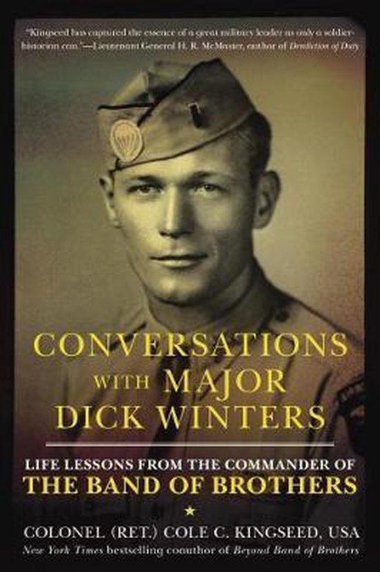 Boek cover Conversations With Major Dick Winters van Cole C. Kingseed (Paperback)