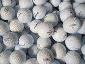 Golfballen gebruikt/lakeballs mix wit AAAA klasse 50 stuks