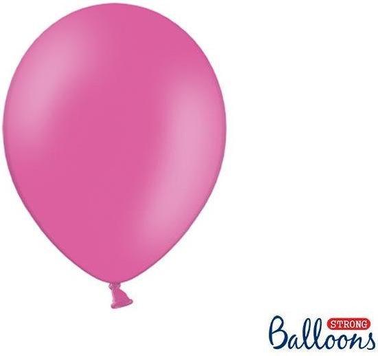 Strong Balloons 27cm, Donker roze (1 zak met 50 stuks) super sterke ballonnen