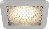 SLV SKALUX COMP inbouw plafondlamp Downlight Inbouw  1x187W Grijs Chroom 162604